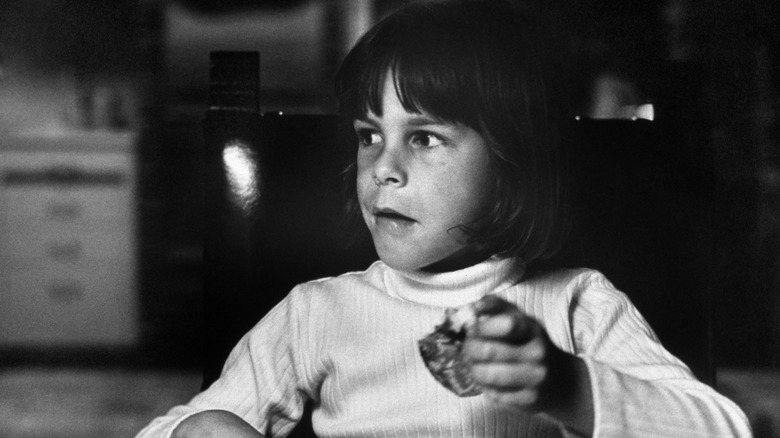 Jamie Lee Curtis holdt mat som barn på 1960-tallet
