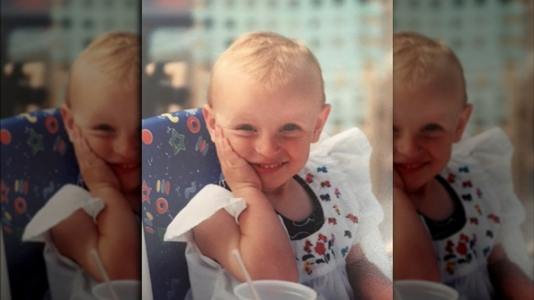 Katie Ledecky som småbarn