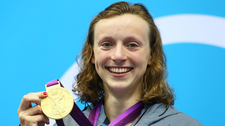 Katie Ledecky holder gullmedalje