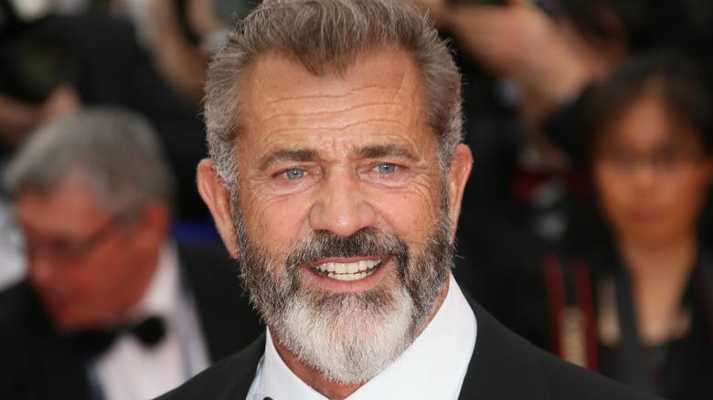 Mel Gibson på en prisutdeling