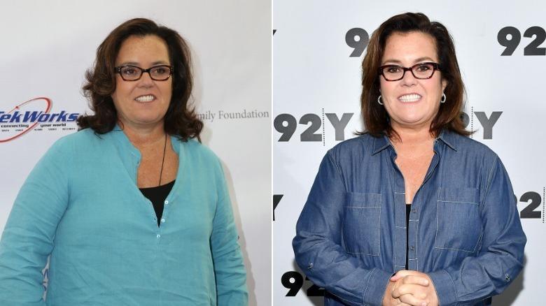 Rosie O'Donnell på to arrangementer