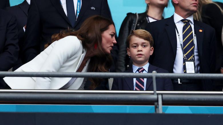 Kate Middleton og prins George