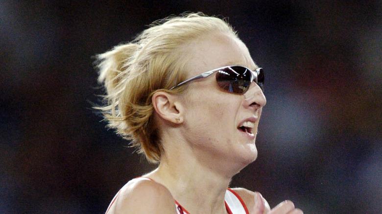 Paula Radcliffe i solbriller