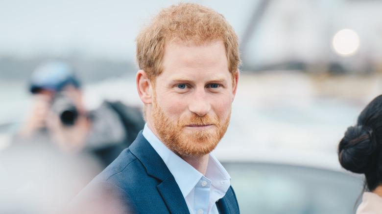 Prins Harry smil