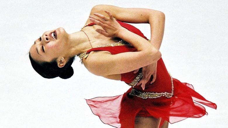 Michelle Kwan opptrer på is
