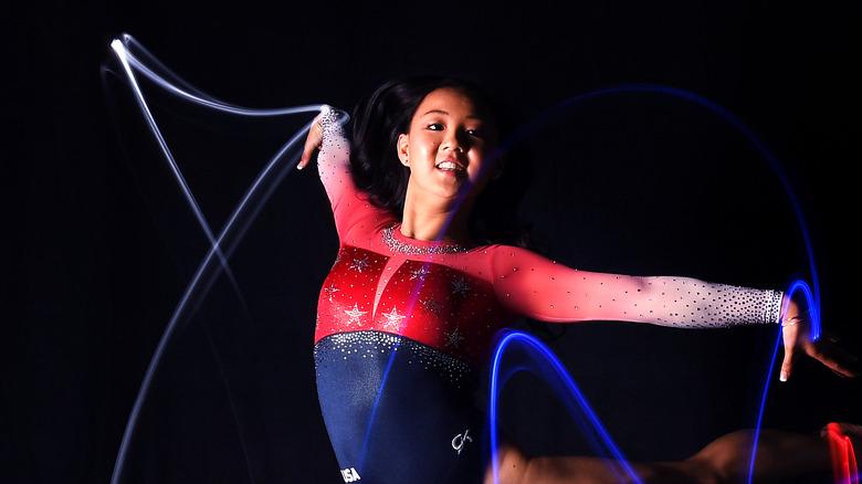Kara Eaker OL-skyting