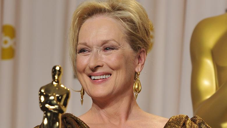 Meryl Streep smiler