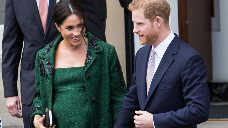 Prins Harry, Meghan Markle går