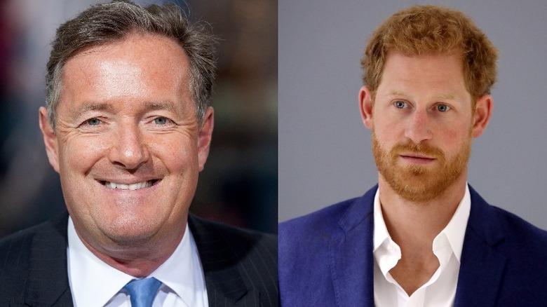 Piers Morgan og prins Harry