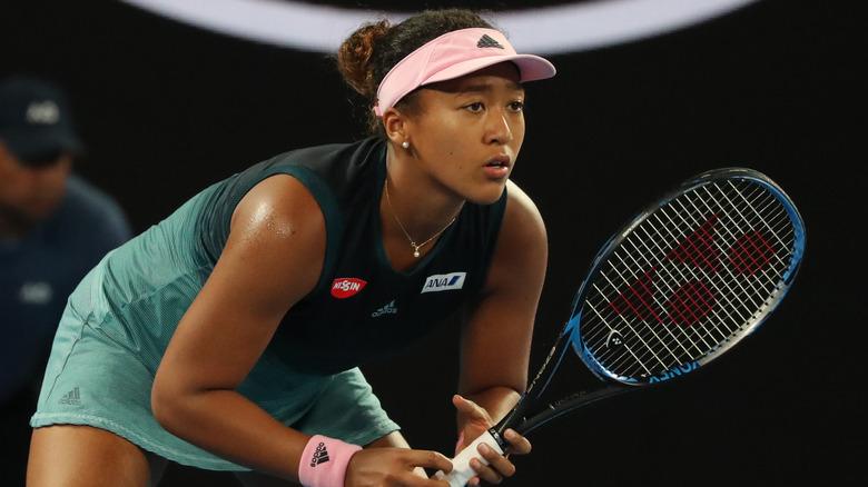Naomi Osaka spiller tennis