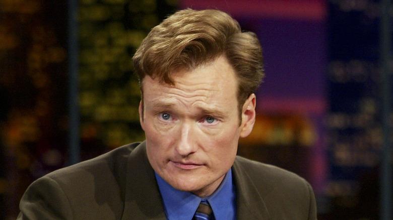 Conan O'Brien gjør ansikt