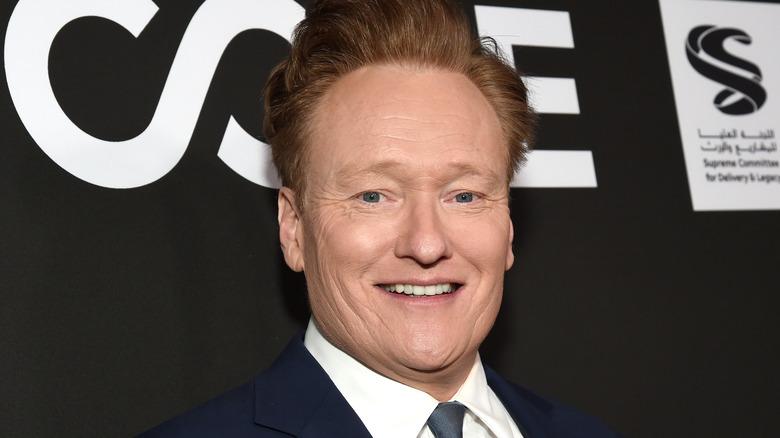 Conan O'Brien i marinefarge