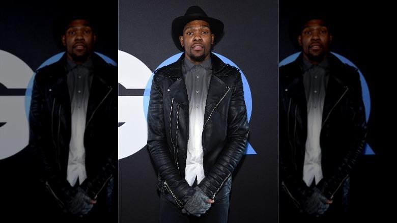 Kevin Durant i en hatt