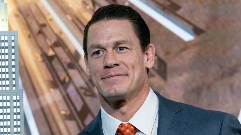 John Cena smiler