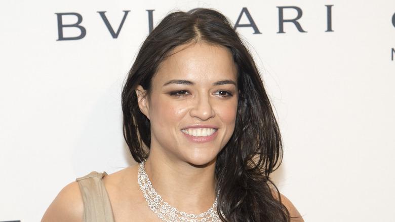 Michelle Rodriguez smiler