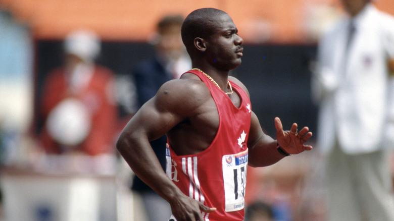Ben Johnson løper