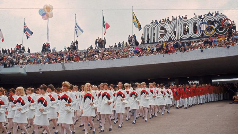 OL-åpningsseremonien i 1968