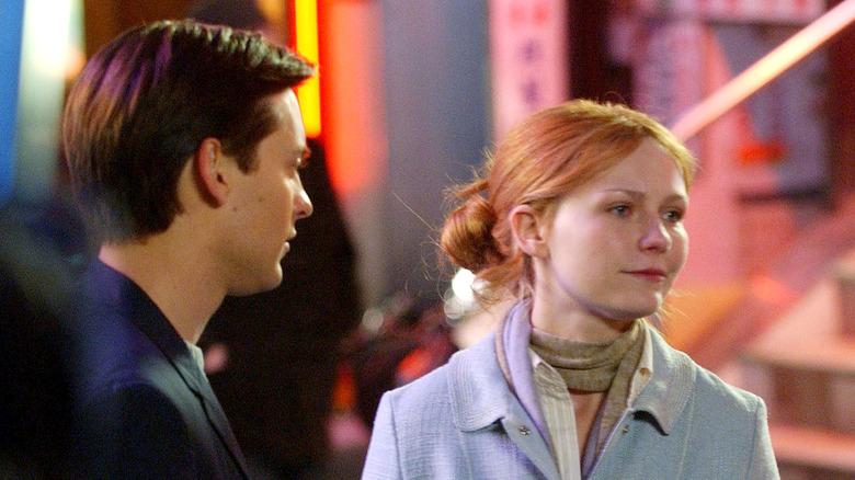 Tobey Maguire og Kirsten Dunst filmer Spider-Man