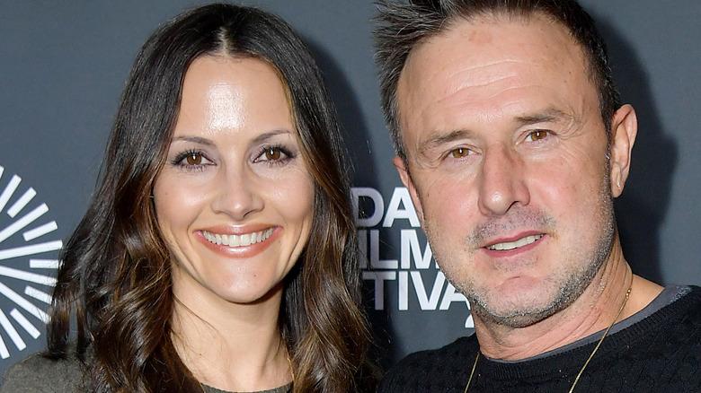 David Arquette og hans kone Christina McLarty