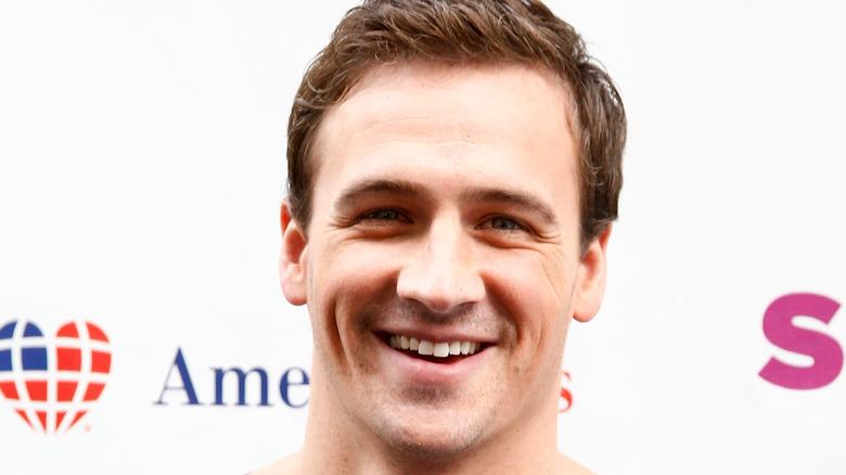 Ryan Lochte smiler