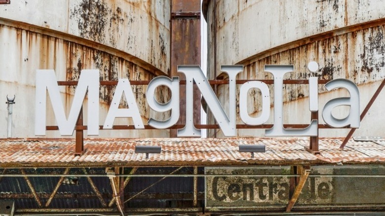 Magnolia Market skilt
