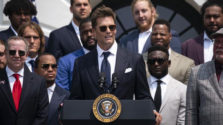 Tom Brady White House