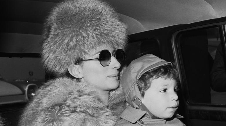 Barbra Streisand og Jason Gould