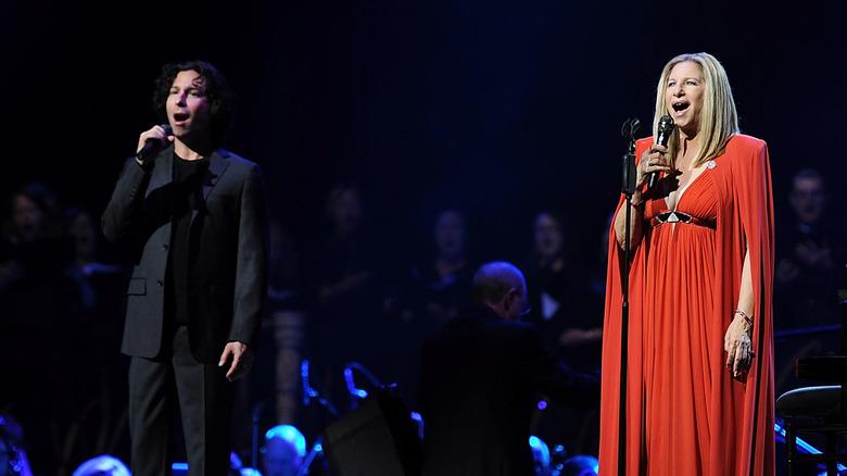Jason Gould og Barbra Streisand