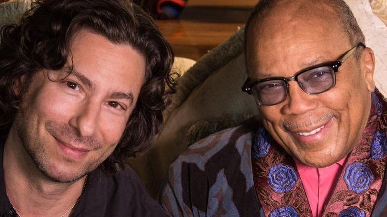 Jason Gould og Quincy Jones