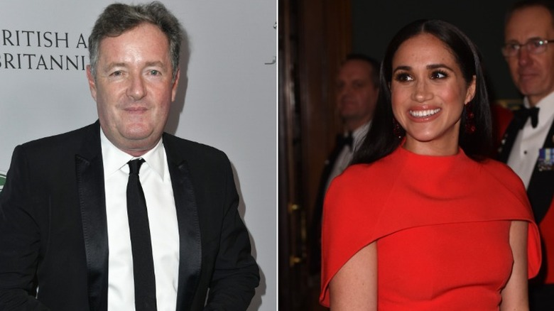 Piers Morgan og Meghan Markle