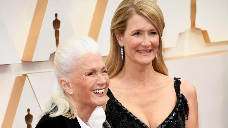 Laura Dern og Diane Ladd på Oscar-utdelingen i 2020.