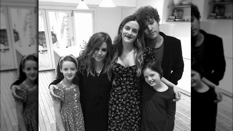 Lisa Marie Presley, Riley Keough og Benjamin Keough