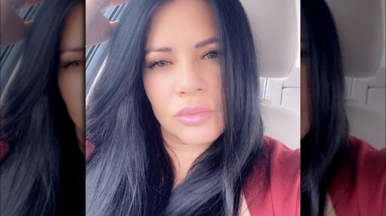 Karen Gravano Instagram selfie