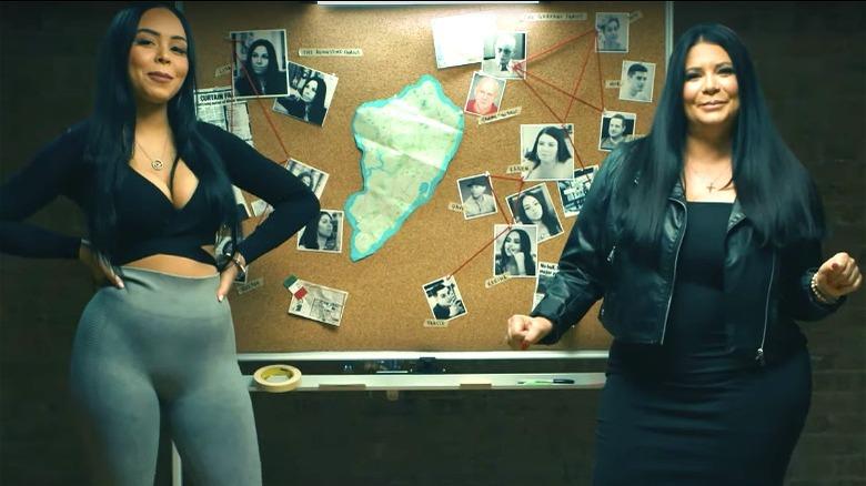Karina Seabrook og Karen Gravano om Families of the Mafia