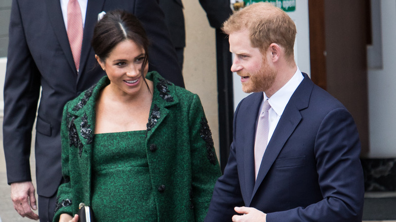 Meghan Markle og prins Harry i Storbritannia