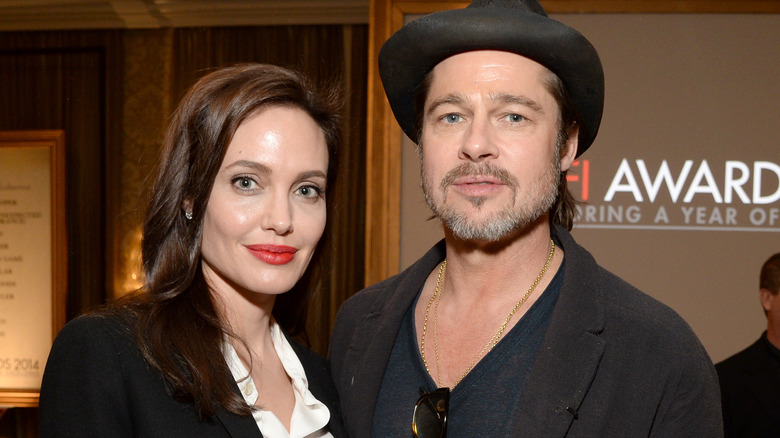 Angelina Jolie og Brad Pitt
