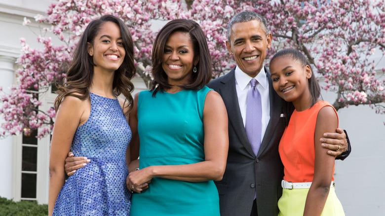Et Obama-familieportrett