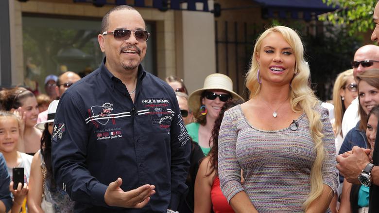 Ice-T og Coco Austin på et arrangement