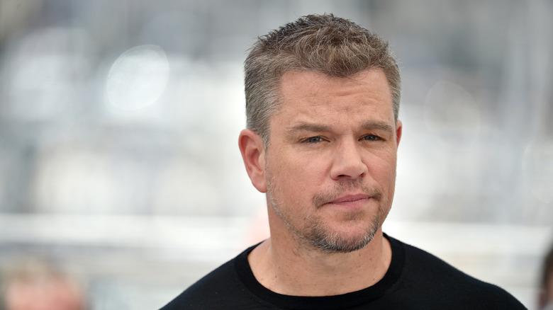 Matt Damon poserer i Cannes