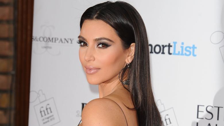 Kim Kardashian på et arrangement