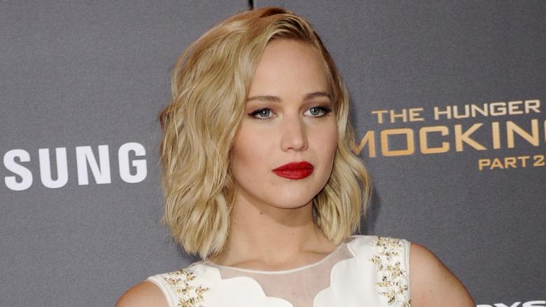 Jennifer Lawrence på Hunger Games-premieren
