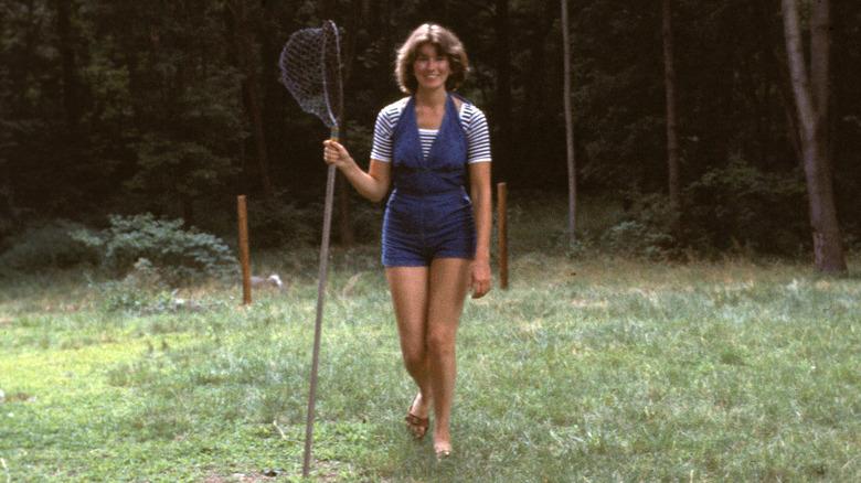 Ung Martha Stewart med nett