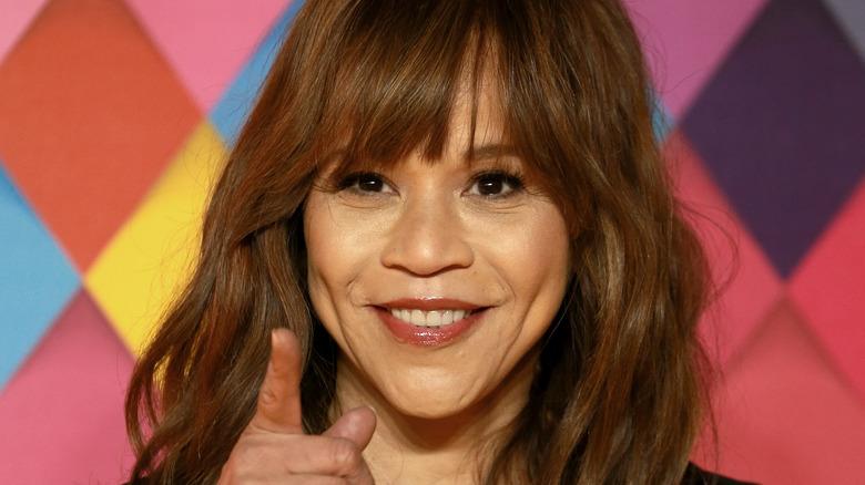 Rosie Perez smiler