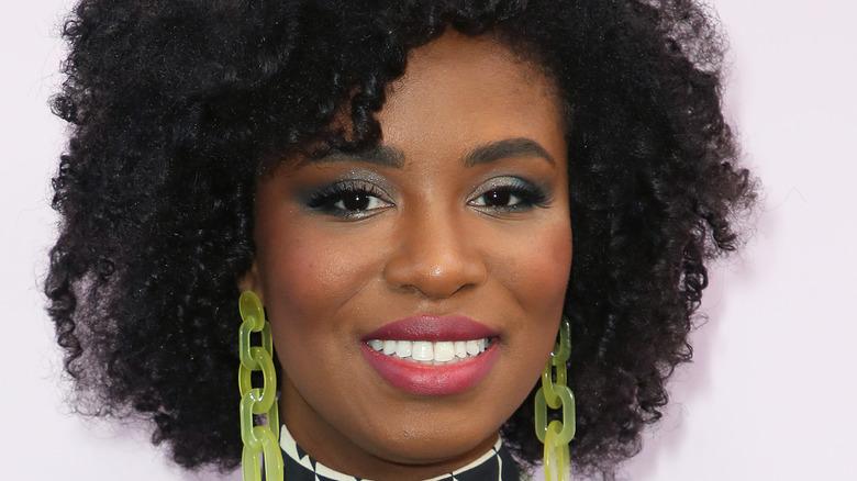 Akilah Hughes smiler