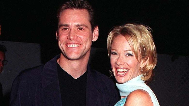 Jim Carrey ler med Lauren Holly