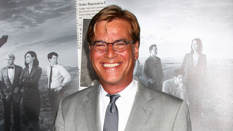 Aaron Sorkin ved andre sesongpremiere på The Newsroom