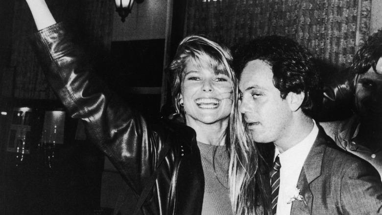 Christie Brinkley og Billy Joel i 1989