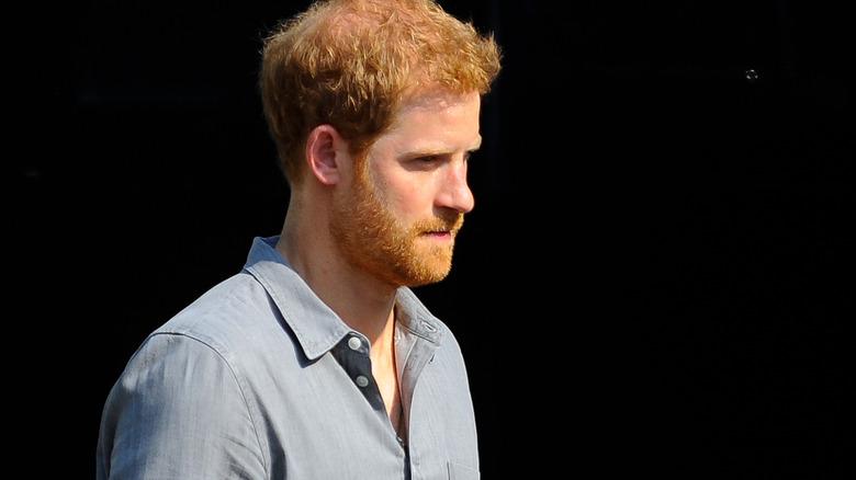 Prins Harry på arrangementet