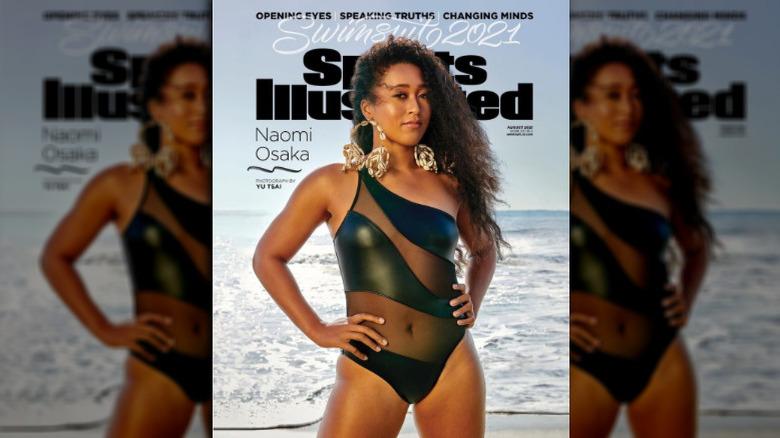Omslaget til magasinet Naomi Osaka Sports Illustrated