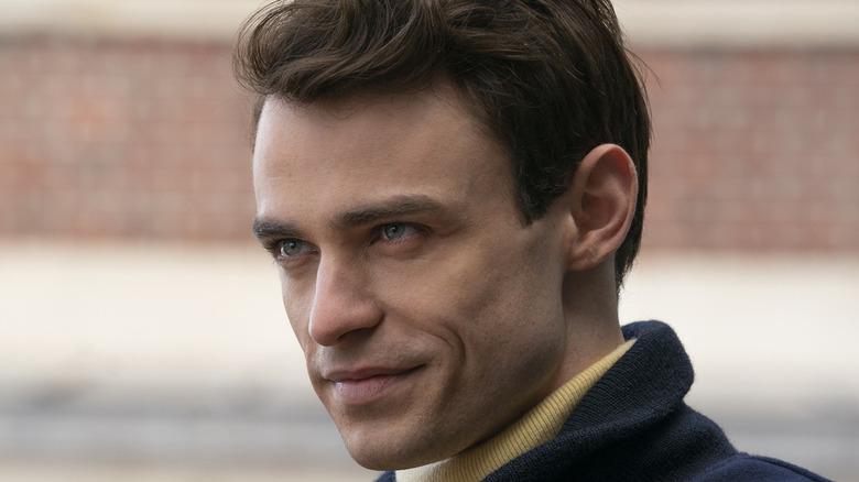 Thomas Doherty smiler